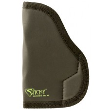 Sticky Holsters MD-4 Gen 1 Sub-Compact Models with Laser Medium Latex Free Synthetic Rubber Black w/Green Logo