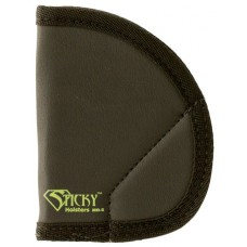 Sticky Holsters MD-5 Ruger LCP/S&W Bodyguard Latex Free Synthetic Rubber Black w/Green Logo