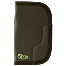"Sticky Holsters LG-5 Large/Long Revolvers up to 4"" Latex Free Synthetic Rubber Black w/Green Logo"