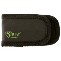 Sticky Holsters Mag Pouch Sleeve/Pocket Black w/Green Logo Latex Free Synthetic Rubber