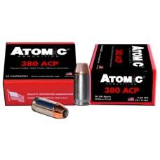 Atomic 00453 Defense 380 ACP 90 GR Bonded HP 20 Bx/ 10 Cs