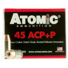 Atomic 00458 Defense 45 ACP +P 185 GR Bonded MHP 20 Bx/ 10 Cs