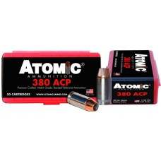 Atomic 00414 Defense 380 ACP 90 GR Bonded HPoint 50 Bx/ 10 Cs