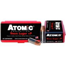 Atomic 00409 Defense 9mm Luger 124 GR Bonded MHP 50 Bx/ 10 Cs
