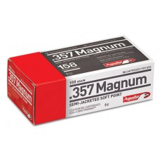 Aguila 357 Magnum 158 GR Semi-Jacketed Hollow Point 50 Bx/ 20 Cs