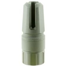 """Advanced Armament 64743 Blackout Flash Hider Blackout 9mm Aerospace Alloy 1.75""""- 2.375"""" L"""