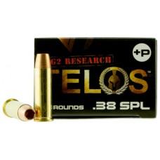 G2 Research TELOS 38SPL+ Telos 38 Special 105 GR Copper Hollow Point Fracturing 20 Bx/ 25 Cs