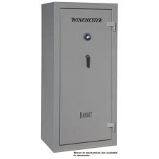 """Winchester Safes B6028F11910M Bandit 19 Gun Safe 60"""" H x 28"""" W x 20"""" D (Exterior) Mechanical Lock Gunmetal Gray"""