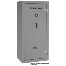 "Winchester Safes B6028F11910E Bandit 19 Gun Safe 60"" H x 28"" W x 20"" D (Exterior) Electronic Lock Gunmetal Gray"