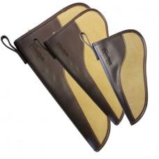 "Birchwood Casey 06485 SportLock 10"" Handgun Case Leather & Canvas"