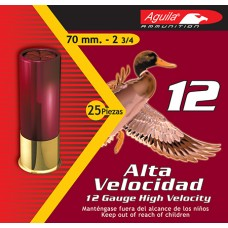 "Aguila 1CHB1206 Hunting 12 Gauge 2.75"" Lead 1-1/4 oz 6 Shot 25 Bx/ 10 Cs"