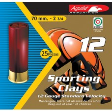 "Aguila 1CHB1248 Recreational High Velocity 12ga 2.75"" 1-1/8 oz 8 Shot 25 Bx/ 10 Cs"