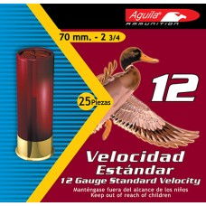 "Aguila 1CHB1212 Standard Velocity 2 Shot 12 Gauge 2.75"" 1-1/8 oz 25Box/10Case"
