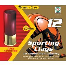 "Aguila 1CHB1242 Competition Standard Velocity 12 Ga 2.75"" 1-1/8 oz 8 Shot 25 Bx/ 10Cs"