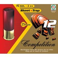 """Aguila 1CHB1254 Recreational Trap 12ga 2.75"""" 7/8 oz 9 Shot 25 Bx/ 10 Cs"""