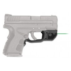 Crimson Trace LG496G Laserguard Springfield XD Mod.2 Green Laser Trigger Guard