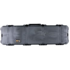 """Pelican  Storm Double Rifle Case Strong HPX Resin Smooth 53.8"""" x 16.5"""" x 6.7"""" Exterior"""