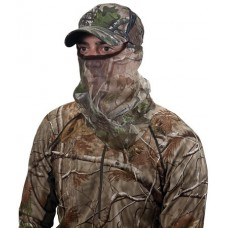 Allen 17616 Visa-Form Head Net Mask 3/4 Face Mask Nylon Mesh One Size Fits Most Realtree APG