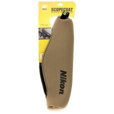 Nikon 16401 ScopeCoat 50mm Scope Cover Slip On Neoprene Coyote Brown