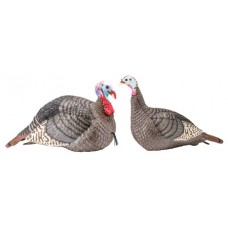 Hunters Specialties 100005 Strut-Lite Hen and Jack Turkey Decoy