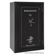 """Winchester Safes S5938337E Silverado 33 Gun Safe 60"""" H x 38"""" W x 25"""" D (Exterior) Electronic Lock Black"""