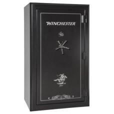 "Winchester Safes L7242537M Legacy 53 Gun Safe 72"" H x 42"" W x 30"" D (Exterior) Mechanical Lock Black"