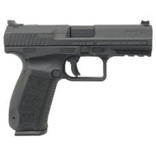 "Century HG4068N TP9 Single/Double 9mm Luger 4.07"" 18+1 Black Interchangeable Backstrap Grip Black"
