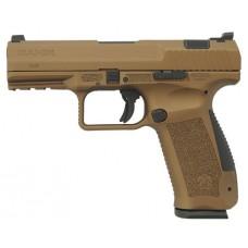 "Century HG4068BN TP9 Single/Double 9mm Luger 4.07"" 18+1 Polymer Grip Burnt Bronze Cerakote"