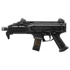 "CZ 01351 Scorpion EVO 3 S1 Semi-Automatic 9mm 7.7"" TB 10+1 Black Polymer Grip Black"