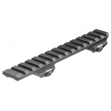 Aim Sports MRB005 Scope Mount For Ruger Mini-14/Mini-30 1-Piece Style Black Hard Coat Anodized Finish