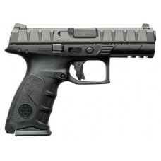 "Beretta USA JAXF921 APX Full Size Double 9mm Luger 4.25"" 17+1 Black Interchangeable Backstrap Grip Black"