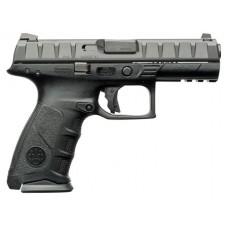 """Beretta USA JAXF421 APX Single/Double 40 S&W 4.25"""" 15+1 Black Interchangeable Backstrap Grip Black"""