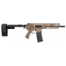 "Sig Sauer PMCX300B9BAL MCX 300 Blackout AR Pistol Semi-Automatic 300 AAC Blackout/Whisper (7.62x35mm) 9""  30+1 Flat Dark Earth"