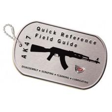 Real Avid/Revo AVAK47R AK47 Field Guide Booklet