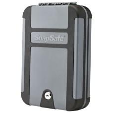 "Snap Safe 75212 Lockbox Security Safe Black/Gray 10"" x 7"" x 2"" Keylock"