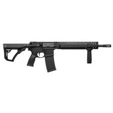 "Daniel Defense 02049047 DDM4 V5S Semi-Automatic 223 Remington/5.56 NATO 14.5"" 30+1 6-Position Black Stk Black Hard Coat Anodized/Black Phosphate"