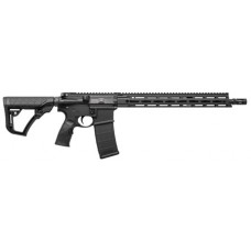 "Daniel Defense 02081047 DDM4 V7 Semi-Automatic 223 Remington/5.56 NATO 16"" 20+1 6-Position Stk Blk Hard Coat Anodized/Phosphate"
