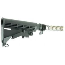 Aim Sports ARSTKCC AR Rifle Collapsible Stock Aluminum/Polymer Black