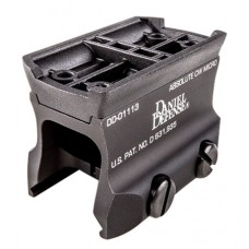 """Daniel Defense 03045148025 Micro Mount 1913 Picatinny Rail  6061-T6 Aluminum 1.24"""" L x .8"""" W x 1.10"""" H"""