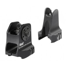 Daniel Defense 1908809116 Rock and Lock Fixed Front/Rear Sights AR-15 Aluminum Black