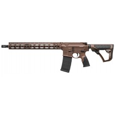 "Daniel Defense 00257047 DDM4 V11 Semi-Automatic 223 Remington/5.56 NATO 16"" 30+1 6-Position Brown Stock Brown Cerakote/Black Phosphate"