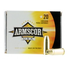 Armscor AC97N 9mm Luger 124 GR Jacketed Hollow Point 20 Bx/ 50 Cs