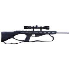 """Excel EA22106 Accelerator Rifle MR-22 Semi-Automatic 22 Winchester Magnum Rimfire (WMR) 18"""" 9+1 Synthetic Black Stock Black"""