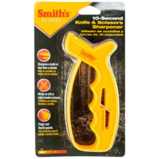 Smiths Products JIFF-S Knife & Scissors Sharpener Tungsten Carbide and Ceramic Fine, Coarse