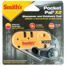 Smiths Products 50364 Pocket Pal Sharpener and Outdoor Tool Tungsten Carbide and Ceramic Fine, Coarse