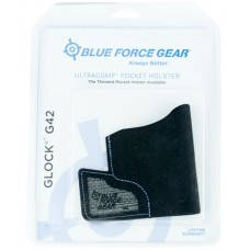 Blue Force Gear MHOLSTERG420 Ultracomp Pocket Glock 42 High-Performance Laminate Black