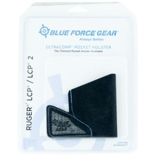 Blue Force Gear MHOLSTERLCP0 Ultracomp Pocket Ruger LCP/LCP II High-Performance Laminate Black