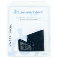 Blue Force Gear MHOLSTERMICO Ultracomp Pocket Kimber Micro 380 High-Performance Laminate Black