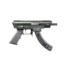 "Excel EA22501 X-Series X-22P AR Pistol Semi-Automatic 22 Long Rifle 4.375"" 25+1 Aluminum Black"