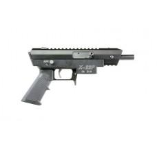 "Excel EA22502 X-Series X-22P AR Pistol Semi-Automatic 22 Long Rifle 4.375"" 10+1 Aluminum Black"